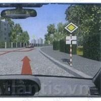 Đề thi sát hạch lái xe ô tô online miễn phí - Đề thi số 9