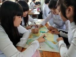 Bài tập trắc nghiệm môn Địa lý lớp 12