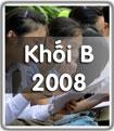 Đề thi đáp án đại học Khối B năm 2008
