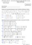 Đề thi tốt nghiệp THPT tiếng Nhật hệ Phổ thông năm 2012 - Mã đề 352