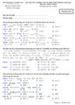 Đề thi tốt nghiệp THPT tiếng Nhật hệ Phổ thông năm 2012 - Mã đề 629