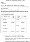 Đề kiểm tra học kì II lớp 7 môn Thể dục - Đề số 2