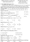 Đề kiểm tra học kì II lớp 7 môn Toán - Phòng Giáo dục và Đào tạo Đồng Nai (Đề 8)