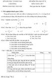 Đề kiểm tra học kì II lớp 7 môn Toán - Sở Giáo dục và Đào tạo Lâm Đồng (Đề 2)