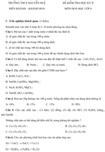 Đề kiểm tra học kì II lớp 8 môn Hóa học - THCS Nguyễn Huệ, Khánh Hòa (Đề 2)