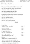 Đề kiểm tra học kì II lớp 8 môn Âm nhạc - THCS Đức Ninh, Quảng Bình (Đề 4)