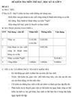 Đề kiểm tra học kì II lớp 9 môn Thể dục - Đề 2