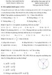 Đề kiểm tra học kì II lớp 9 môn Toán - Trường THCS Hiệp Phước, Đồng Nai (Đề 14)