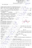 Đề thi thử Đại học môn Vật lý khối A năm 2013 (có đáp án)
