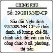 Nghị định số 29/2013/NĐ-CP