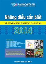 Những điều cần biết về tuyển sinh Đại học, Cao đẳng 2014 - ĐH Quốc Gia TP HCM