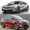 Bảng giá xe ô tô BMW và Hyundai