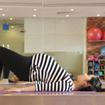 Các động tác yoga giúp mẹ bầu thư giãn