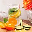 Cách làm nước uống detox giúp eo thon tự nhiên