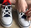Hướng dẫn cách buộc dây giày đẹp mắt