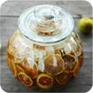 Cách ngâm chanh đào mật ong trị ho cho cả nhà