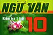 Bài tập trắc nghiệm ngữ văn lớp 10 - Văn học dân gian Việt Nam
