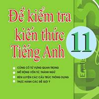 Đề kiểm tra tiếng Anh lớp 11 học kì I trường THPT chuyên Huỳnh Mẫn Đạt - Kiên Giang - Số 1