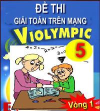 Đề thi Violympic Toán lớp 5 vòng 1 năm 2015 - 2016