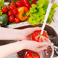 Mẹo rửa rau quả siêu sạch