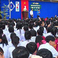 Đề thi học kì 1 môn Tiếng Anh lớp 10 trường THPT Châu Thành 1, Đồng Tháp năm 2014 - 2015