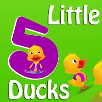 Video học Tiếng Anh cho trẻ em: Five Little Ducks