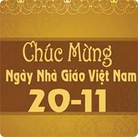 Thơ chúc mừng ngày Nhà giáo Việt Nam 20-11