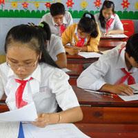 Đề kiểm tra giữa học kì 1 môn Toán lớp 6 huyện Việt Yên, Bắc Giang