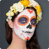 Cách vẽ mặt nạ ấn tượng cho đêm Halloween