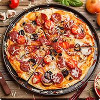Cách làm Pizza không cần lò nướng cực hay