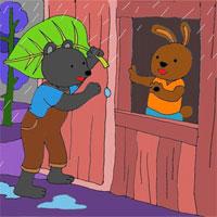 Giáo án mầm non đề tài: Bác Gấu đen và hai chú thỏ