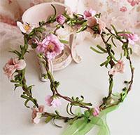Cách làm hoa đội đầu cho cô dâu đẹp lung linh