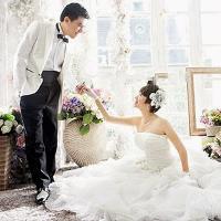 Bí quyết chọn váy cưới cho cô dâu bầu bí