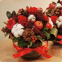 Bí quyết cắm hoa đẹp cho đêm Noel
