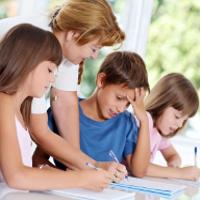 Bài tập Toán lớp 4 - Tìm hai số khi biết tổng và hiệu của hai số đó