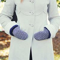 Tự may găng tay cực chất từ áo len cũ