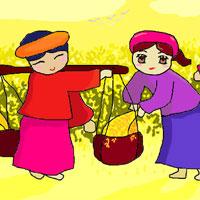 Giáo án bài Hạt gạo làng ta