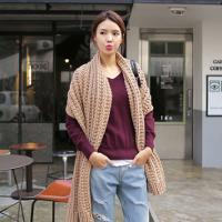 Một số kiểu thắt khăn choàng hợp mốt trong mùa đông