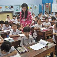Đề kiểm tra cuối học kì 1 môn Tiếng Việt lớp 4 năm học 2015 - 2016 trường Tiểu học Tài Văn 2, Sóc Trăng
