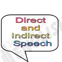 Bài tập câu trực tiếp - gián tiếp số 1