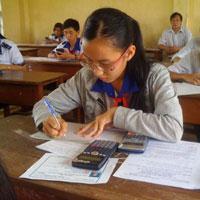 Đề thi giải toán trên máy tính cầm tay lớp 10 THPT tỉnh Thái Nguyên năm 2011 - 2012