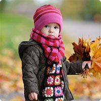 Mẹo mặc quần áo giúp con không bị nhiễm lạnh trong mùa đông