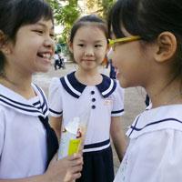 Đề kiểm tra cuối học kì 1 môn Lịch sử - Địa lý lớp 4 năm học 2015 - 2016 trường Tiểu học Võ Văn Vân, TP. Hồ Chí Minh