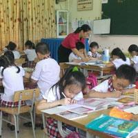 Đề kiểm tra cuối học kì 1 môn Toán lớp 4 năm học 2015 - 2016 trường Tiểu học Võ Văn Vân, TP. Hồ Chí Minh