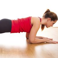 Giảm mỡ bụng hiệu quả với bài tập Plank thần thánh