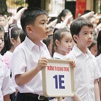 Đề thi học kỳ 1 môn tiếng Anh lớp 1 trường Tiểu học Đoàn Thị Nghiệp, Tiền Giang năm 2015 - 2016