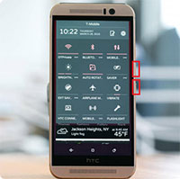 Cách chụp ảnh màn hình trên điện thoại HTC