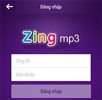 Hướng dẫn tạo tài khoản Zing MP3 trên Android và iPhone