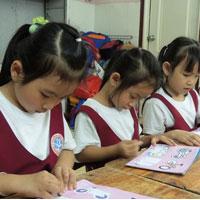 Đề thi học kì 1 môn Toán lớp 3 trường tiểu học Bình Minh A, Hà Nội năm 2015 - 2016