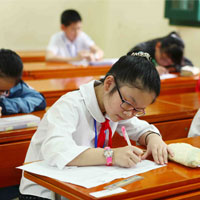 Đề thi học kì 1 môn Lịch sử - Địa lý lớp 5 trường tiểu học Trần Hưng Đạo, Đắk Lắk năm 2015 - 2016